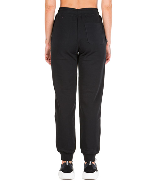 Tracksuit bottoms Moschino roman double question mark a032155277555 nero