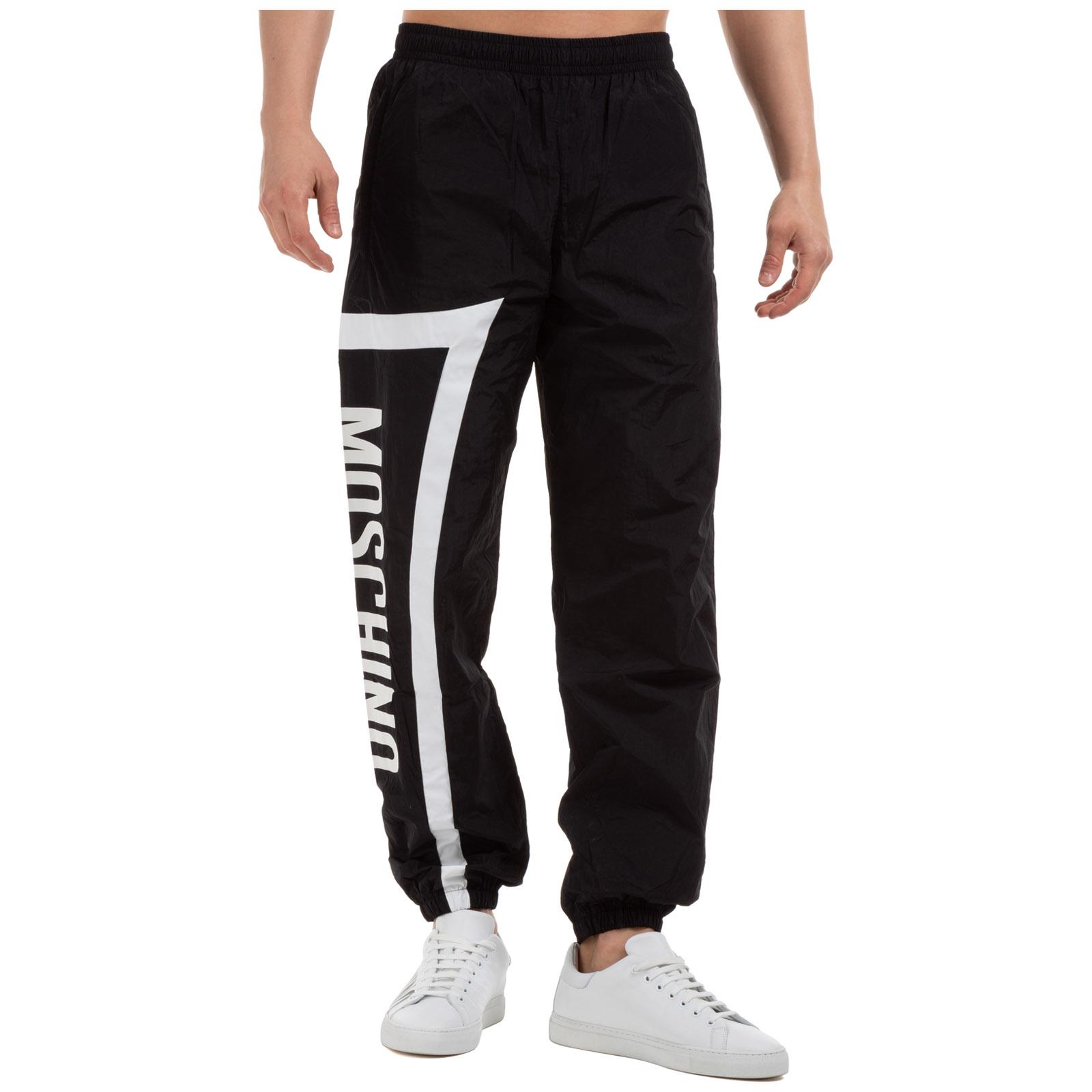 Pantalones Deportivos Moschino A034102213555 Nero Frmoda Com
