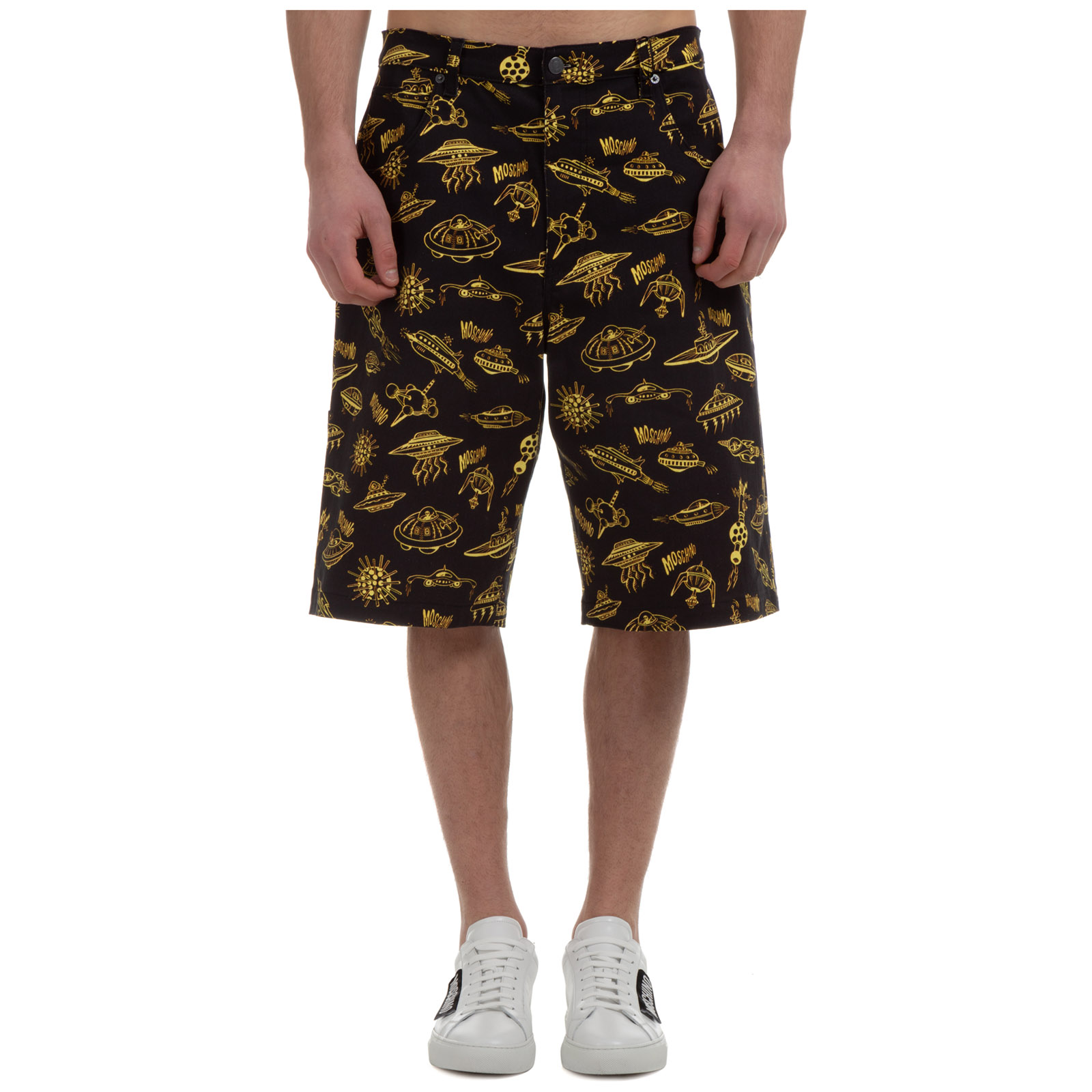 Moschino MEN'S SHORTS BERMUDA SPACESHIP
