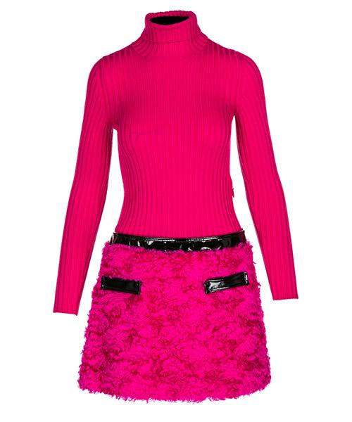 Vestito corto Moschino J042754102216 fucsia