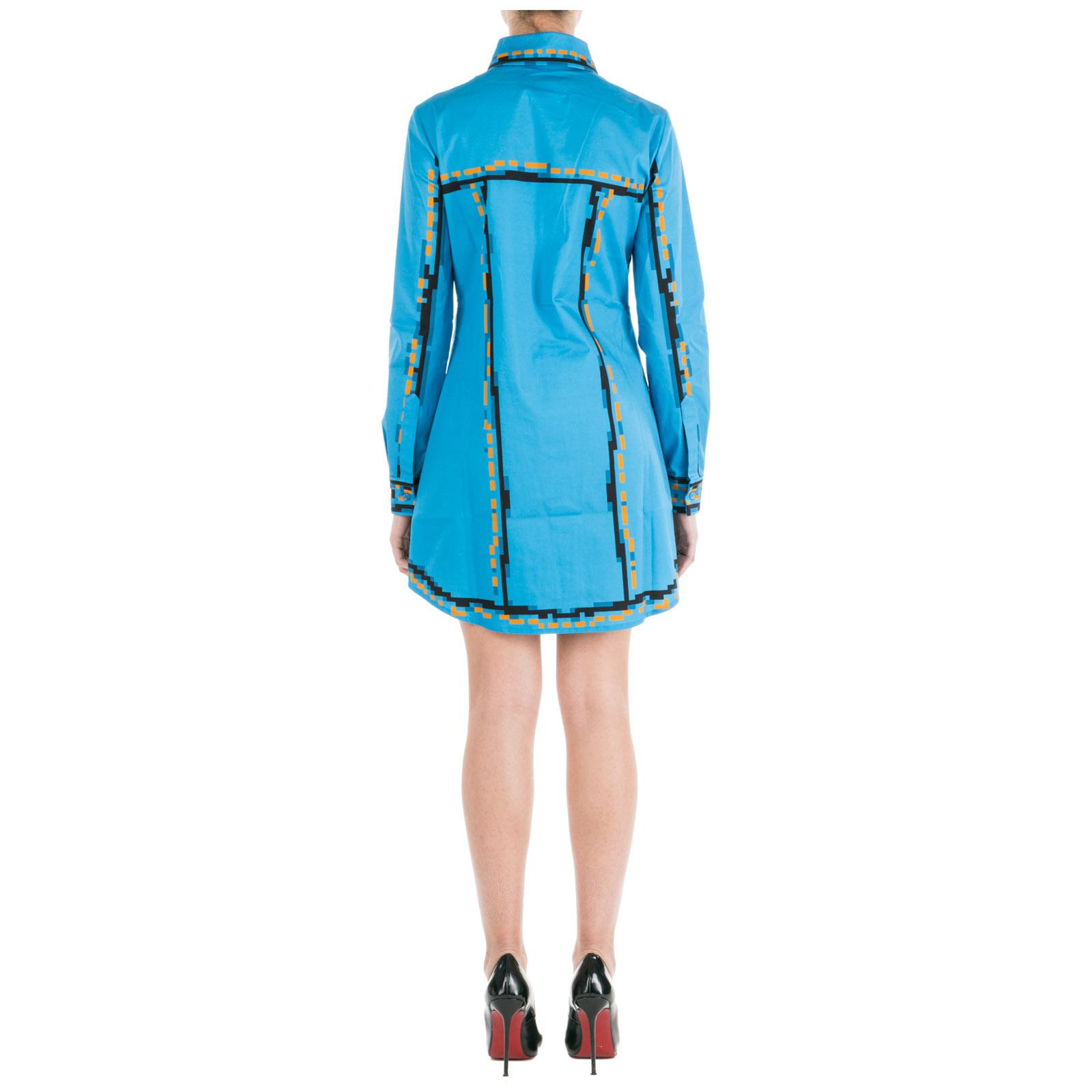 fc5098a40955 ... Vestito abito donna corto miniabito manica lunga pixel capsule ...