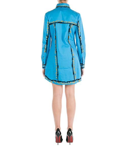 Damen kurzes kleid mini lange Ärmel pixel capsule secondary image