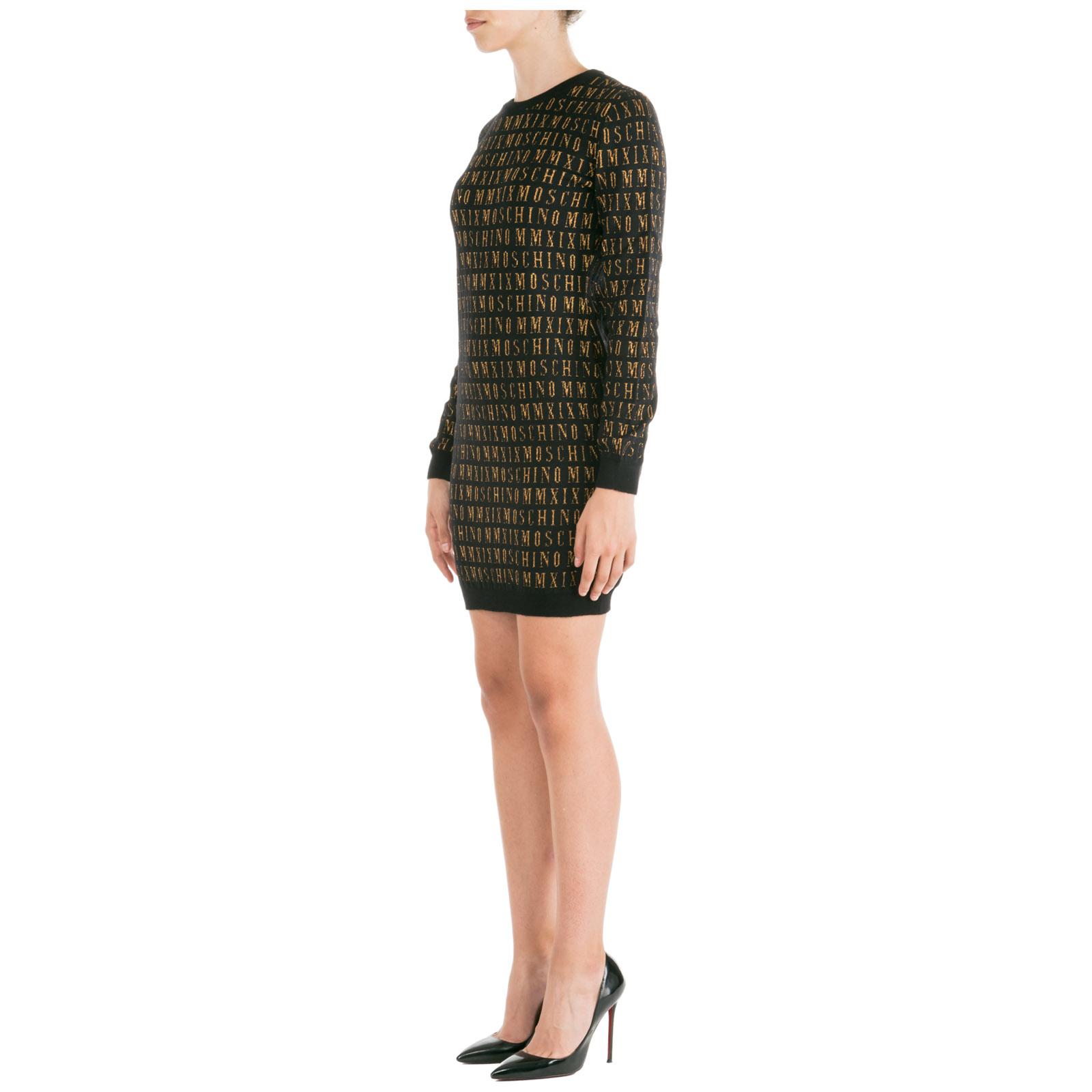 Vestido de mujer corto mini con mangas largas