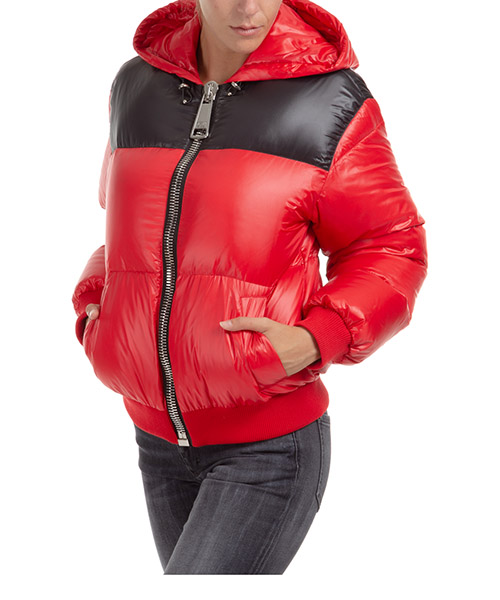 Jacket Moschino A052655172115 rosso