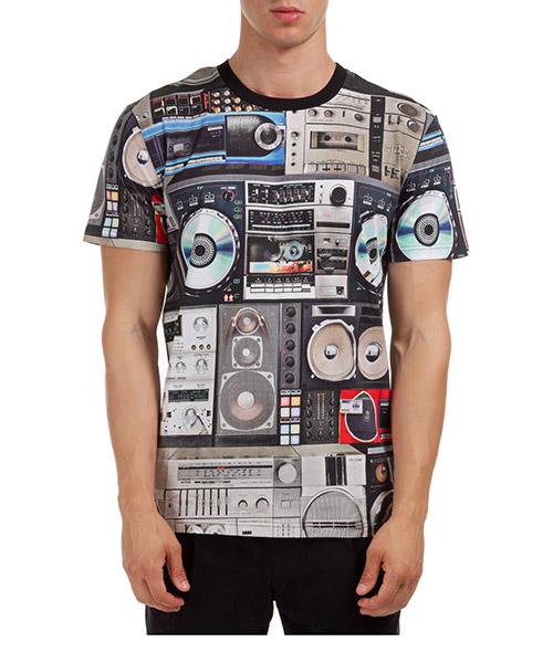 T-shirt Moschino A070352401555 grigio