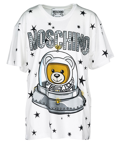 T-shirt Moschino A070354401002 white