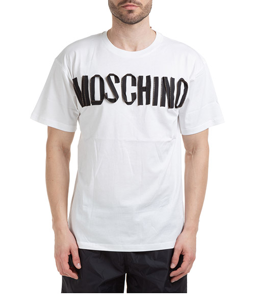 T-shirt Moschino a070420401001 bianco