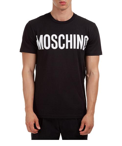T-shirt Moschino A070552402555 nero