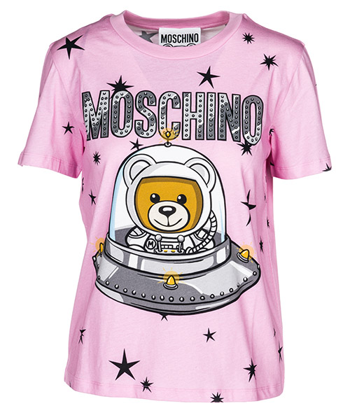 T-shirt Moschino A070554401221 rosa
