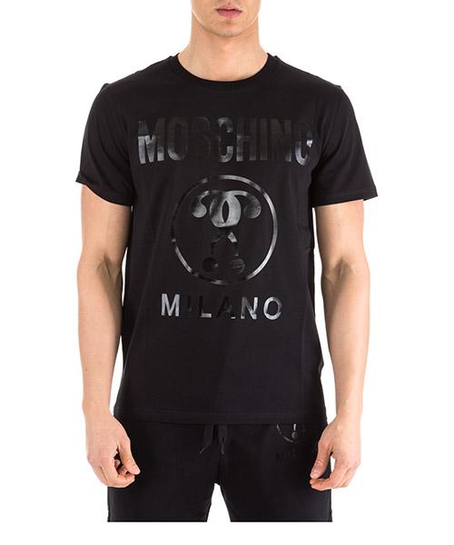 T-shirt Moschino A070602400555 nero