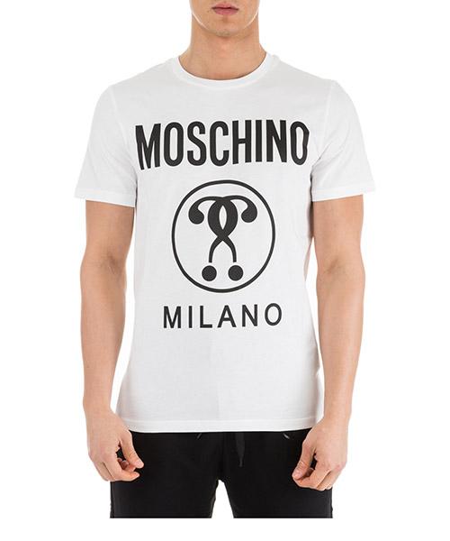 T-shirt Moschino A070602401001 bianco