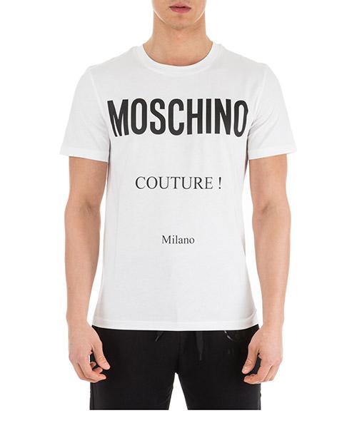 T-shirt Moschino A070702401001 bianco