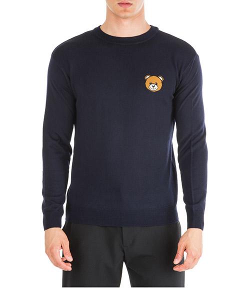 Pull Moschino Teddy Bear A090252000510 blu