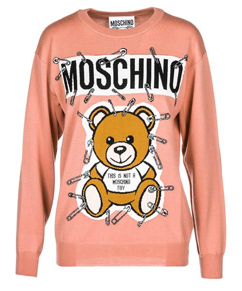 Maglione Moschino A091955011147 pink