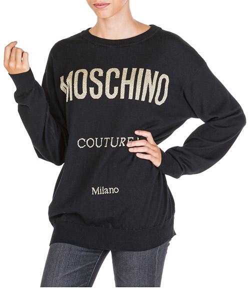 Sweater Moschino a092355000555 nero