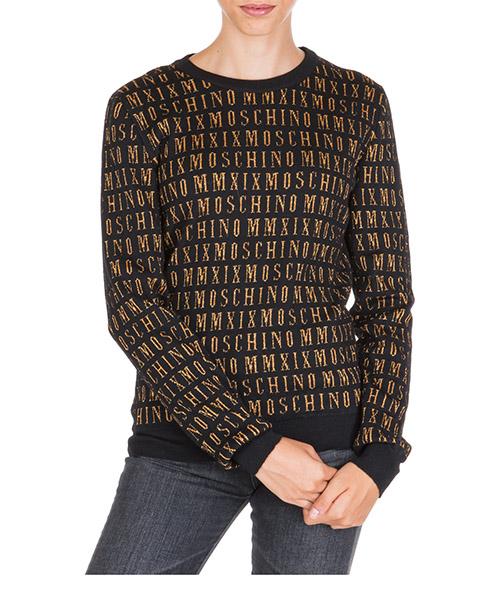 Sweater Moschino a092455012555 nero
