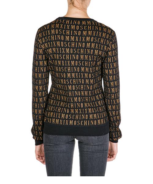 Women's jumper sweater crew neck round mmxix secondary image