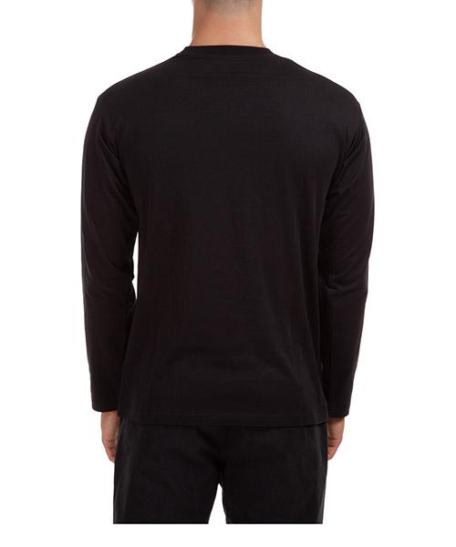 T-shirt manches longues ras du cou homme double question mark secondary image