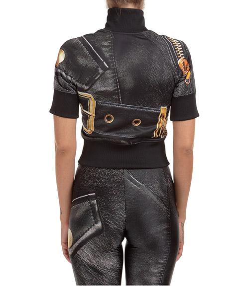Damen sweatshirt reißverschluss pulli biker secondary image