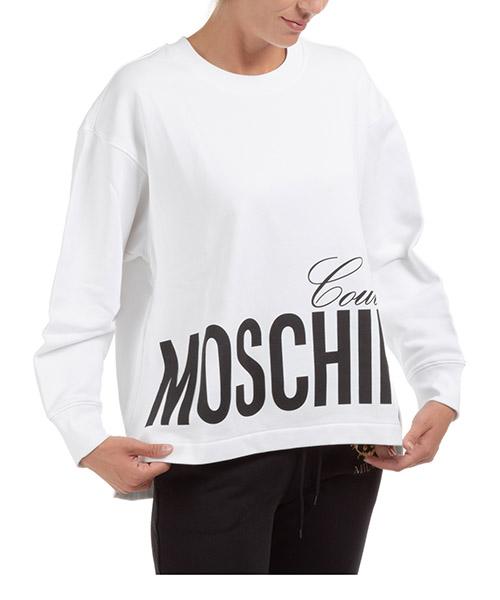 Sweatshirt Moschino a170405271001 bianco