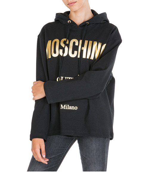 Sweat à capuche Moschino A171855262555 nero
