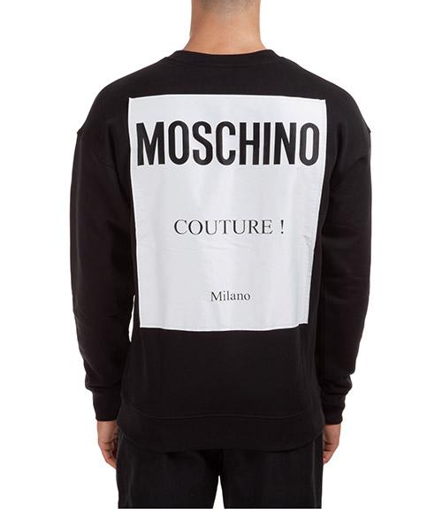 Sweat Moschino A171952270555 nero