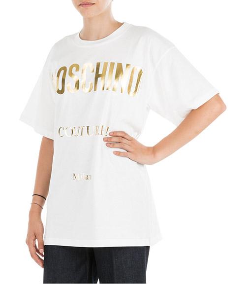 T-shirt Moschino J070155401002 bianco