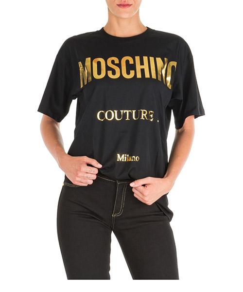 T-shirt Moschino j070155401555 nero