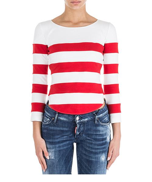 T-shirt Moschino J120105265115 bianco