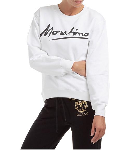 Sweatshirt Moschino j171504271001 bianco