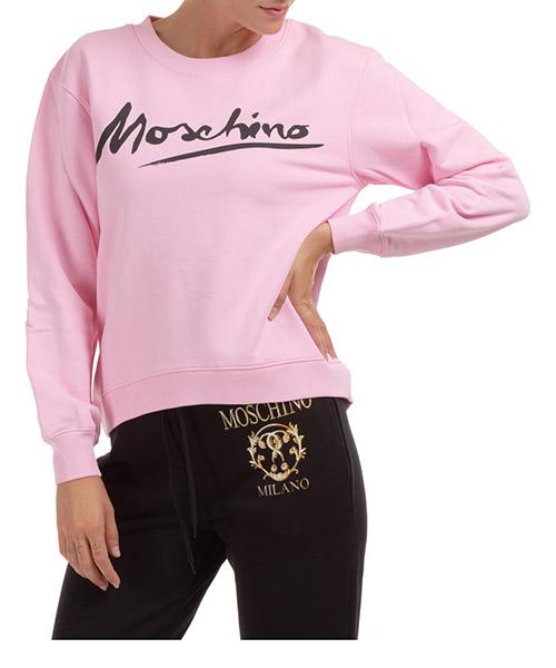 Sweatshirt Moschino j171504271224 rosa