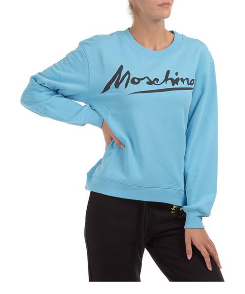 Sweatshirt Moschino J171504271313 azzurro
