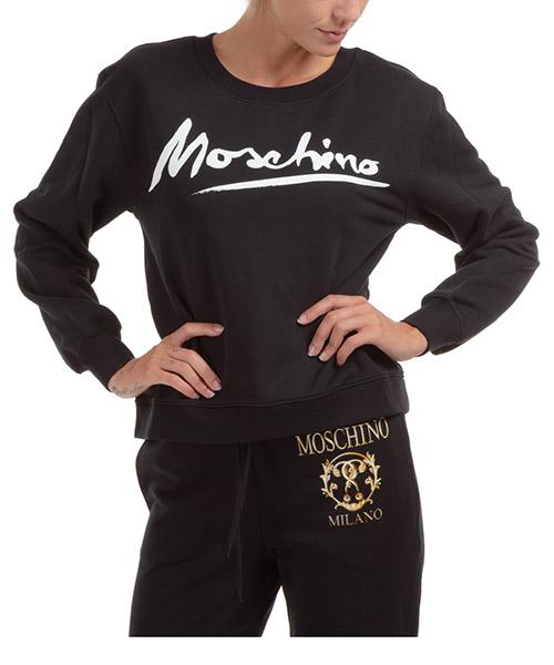Sweatshirt Moschino j171504271555 nero