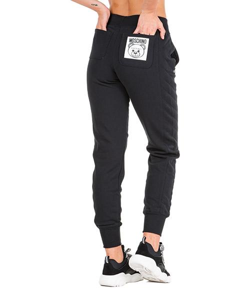 Спортивные брюки Moschino Teddy Bear Label V031154270555 nero