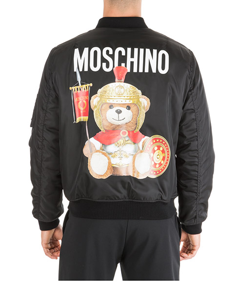 Men's outerwear jacket blouson  roman teddy bear secondary image
