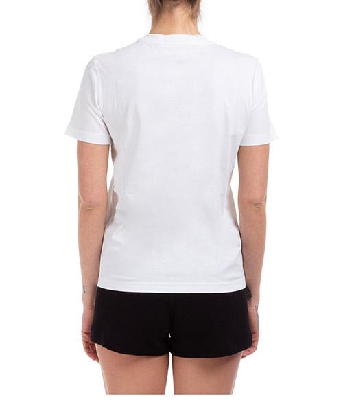 Women's t-shirt short sleeve crew neck round frame teddy bear secondary image