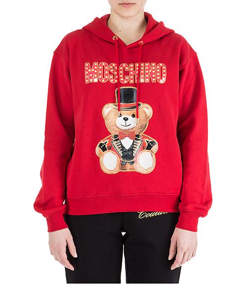 Sweatshirt Moschino V170405272115 rosso
