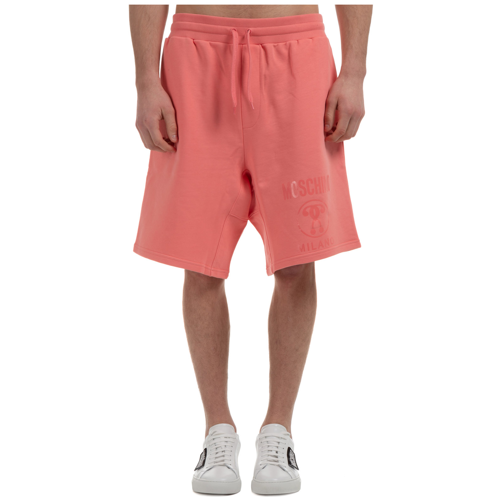 Moschino MEN'S SHORTS BERMUDA DOUBLE QUESTION MARK SLIM FIT