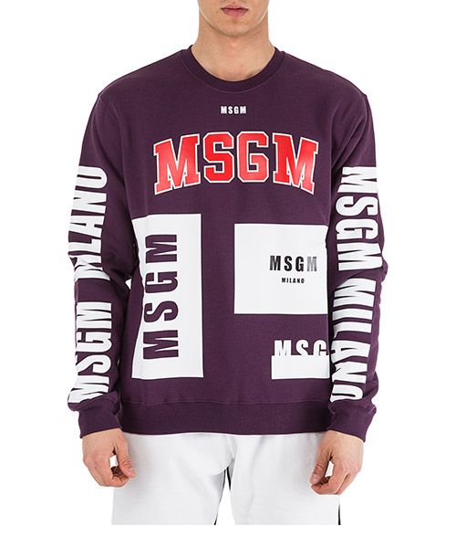 Sweat MSGM 2540MM173 viola