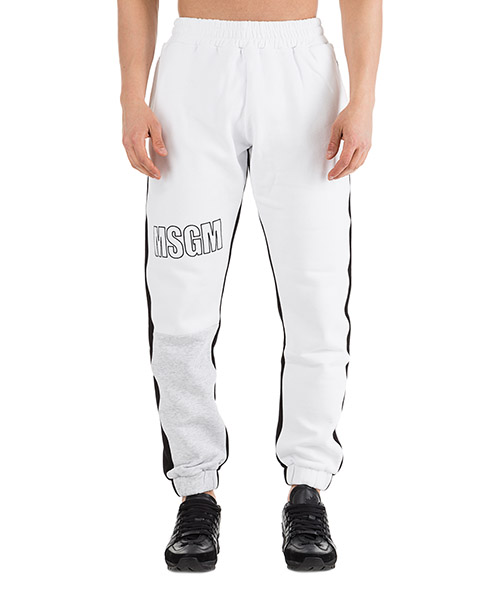 Спортивные брюки MSGM 2540MP69 184799 bianco