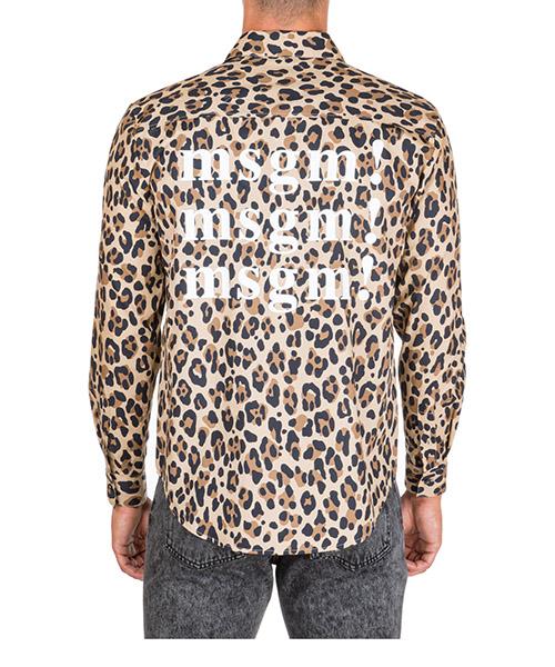 Shirt MSGM 2740ME04X 195550 23 beige
