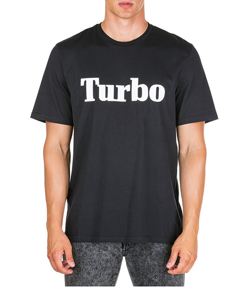T-shirt MSGM turbo 2740mm103 195797 99 nero