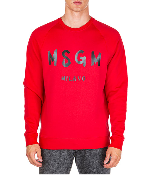 Sweat MSGM 2740MM104 195799 18 rosso