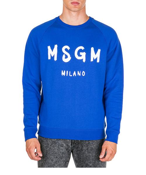 Sweatshirt MSGM 2740MM104 195799 85 blu