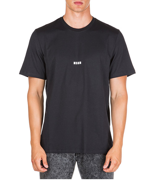 T-shirt MSGM 2740mm162 99 nero