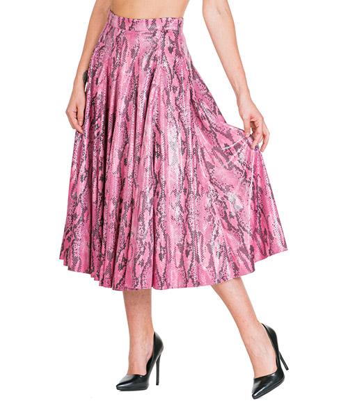 Skirt MSGM 2741MDD10 195607 rosa