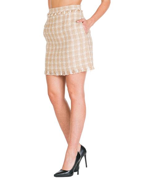 Mini jupe MSGM 2741MDD17 195624 23 beige