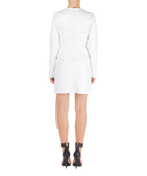 Vestito abito donna corto miniabito manica lunga secondary image