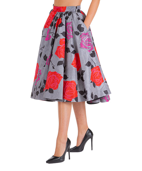 Skirt MSGM 2742mdd124 195852 96 grigio
