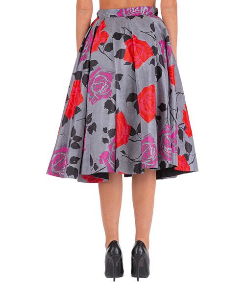 Women's skirt knee length midi secondary image